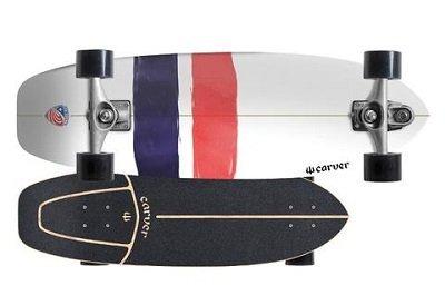 carver skateboards USA thruster