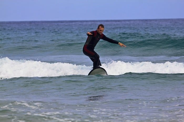 learning to surf at 30
