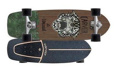 carver skateboards cc courtney conlogue sea tiger