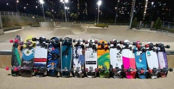 most popular surf skate brands