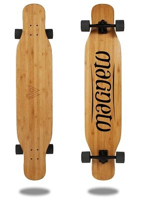 best dancing longboard magneto bamboo dancer