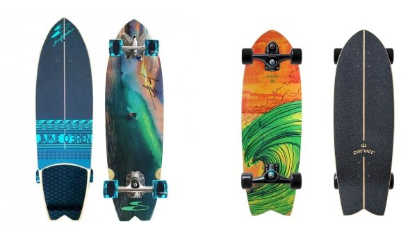 comparing surfskate vs carver