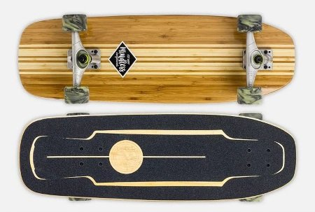 mindless longboards surf skate bamboo review