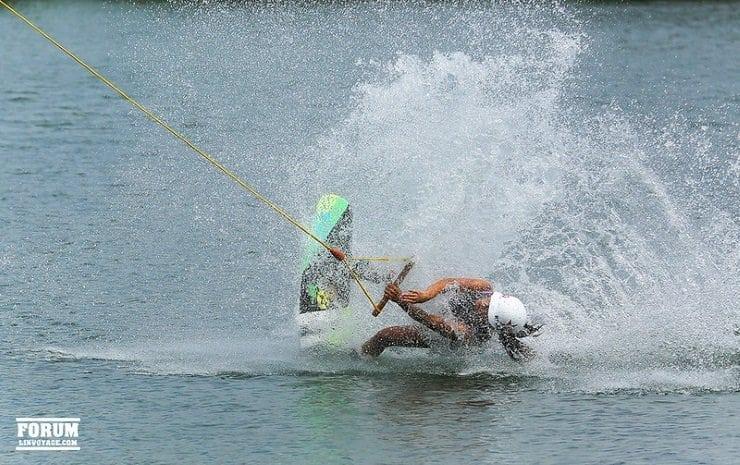 is wakeboarding hard