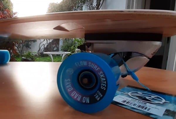 Flow surfskate wheels