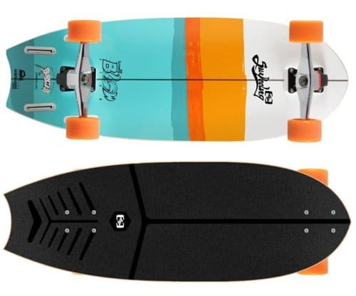 Surfeeling Blowfish surf skate review
