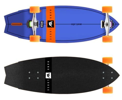 Surfeeling Hang Loose surf skate review