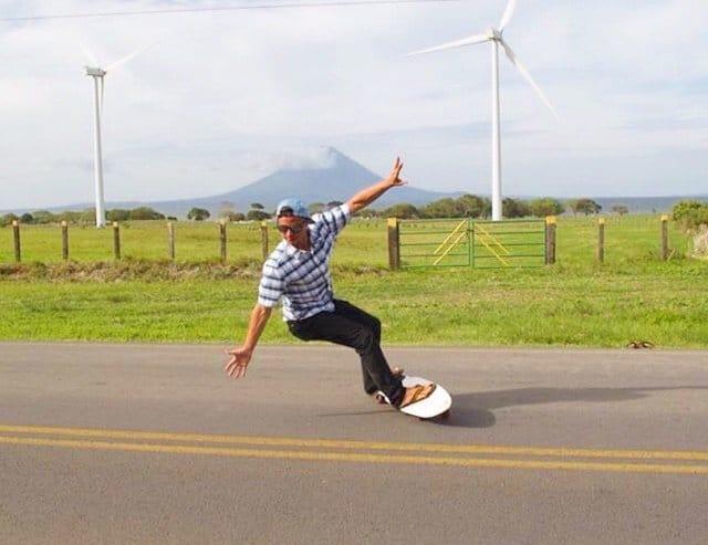 street surfing longbooard