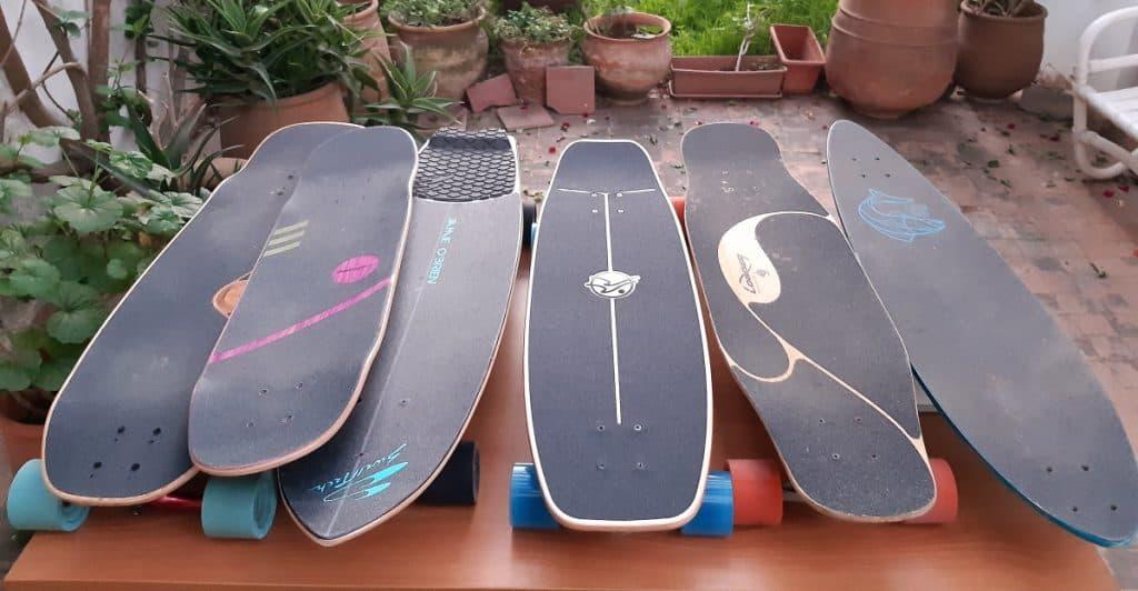 longboard selector
