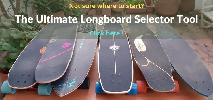 longboard selector tool and quiz