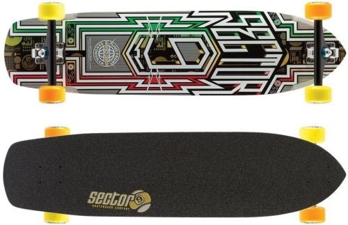 best longboard for downhill & racing - sector 9 carbon flight