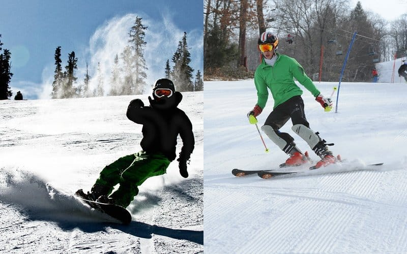 Switching From Snowboarding To Skiing: Why & How To Do It?