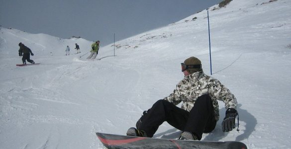 can you snowboard on a sprained ankle