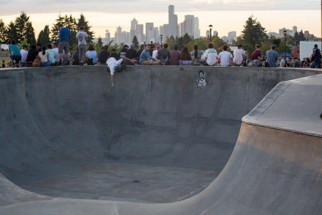 Jefferson Skatepark seattle
