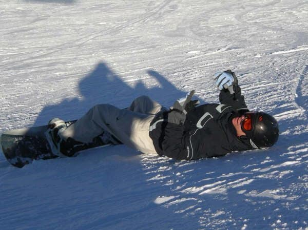 Cons of teaching yourself snowboarding