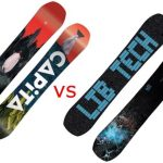 Lib Tech Box Knife vs Capita DOA: Which Snowboard Wins?