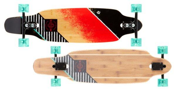 best longboard for carving & pumping - sector9 streak striker