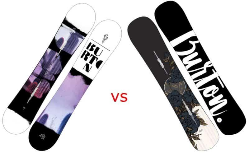 Burton Stylus vs Hideaway: Which Women Snowboard Wins?