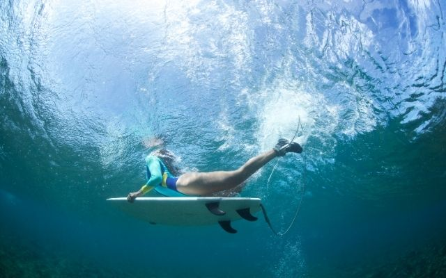 Can you duck dive a mini-mal?