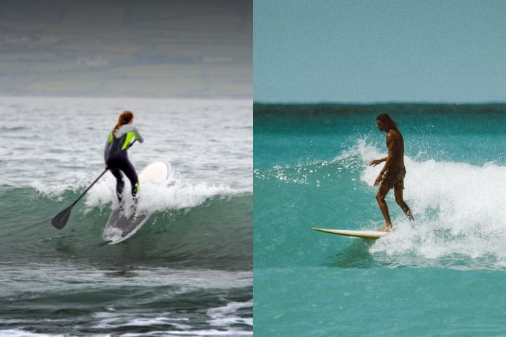 Is SUP Harder Than Surfing?
