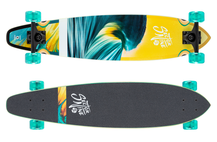 Sector 9 Highline Shine 34.5″: A Hot Pintail For The Beach (2021)