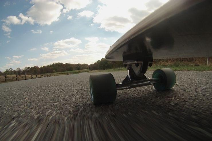 Skateboarding On Rough Roads